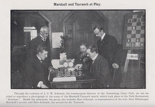 marshall tarrasch