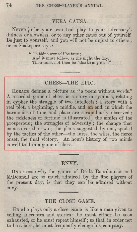 Chess: the Need for Sources by Edward Winter