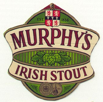 murphy beer mat