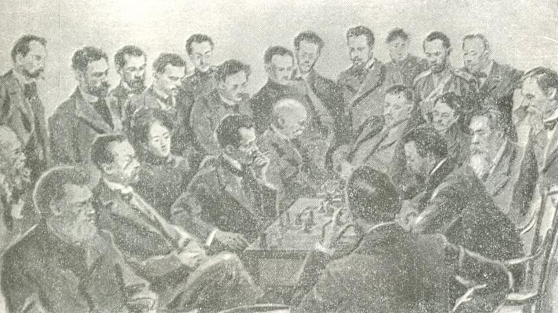 janowsky chigorin