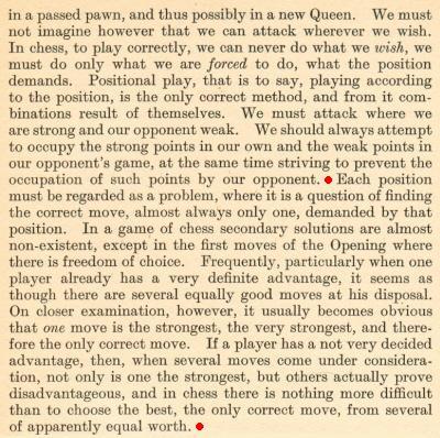 chess notes by edward winter tarrasch