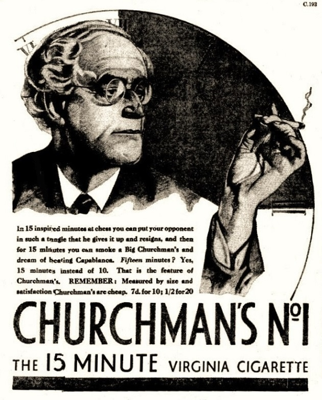 churchman cigarettes
